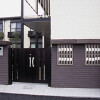 1K Apartment to Rent in Fuchu-shi Building Entrance