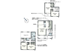 4LDK {building type} in Sakaecho - Higashimurayama-shi