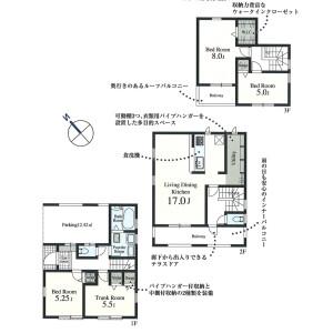 4LDK {building type} in Sakaecho - Higashimurayama-shi Floorplan