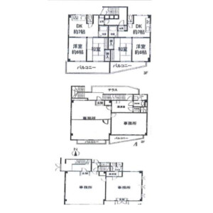 Whole Building Apartment in Takadanobaba - Shinjuku-ku Floorplan