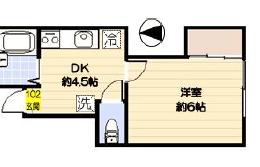 新宿区 大久保 1DK マンション