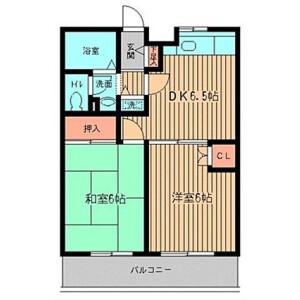 2DK Apartment in Kohinata - Bunkyo-ku Floorplan