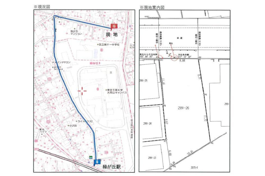 Whole Building Apartment to Buy in Meguro-ku Map