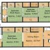 在京都市上京区购买4DK 独栋住宅的 楼层布局