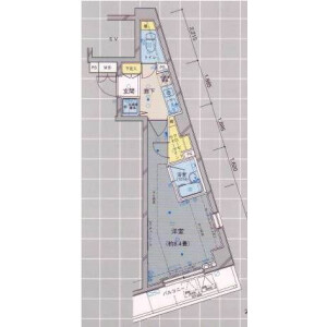 1K Mansion in Higashigotanda - Shinagawa-ku Floorplan