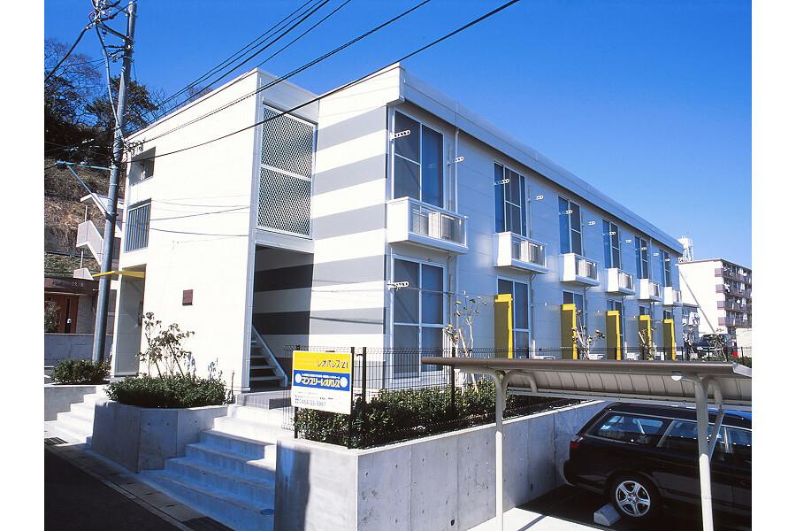 在Yokosuka-shi内租赁1K 简易式公寓 的 户外