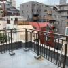 2LDK Apartment to Buy in Shinjuku-ku Balcony / Veranda