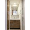 1LDK Apartment to Rent in Taito-ku Washroom
