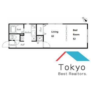 1DK Mansion in Kamitakada - Nakano-ku Floorplan