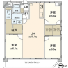 3LDK Apartment to Buy in Mitaka-shi Floorplan