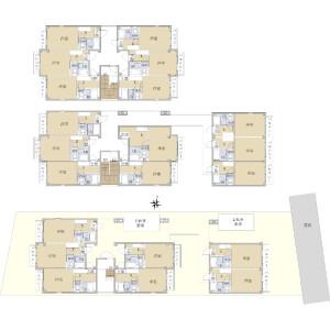 Whole Building {building type} in Ohashi - Fukuoka-shi Minami-ku Floorplan