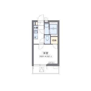 1K Mansion in Tsutsujigaoka - Yokohama-shi Aoba-ku Floorplan