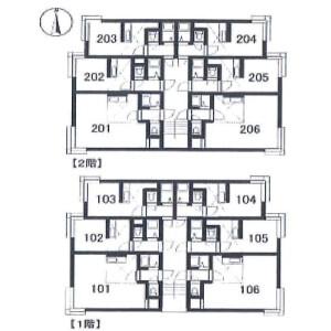 Whole Building {building type} in Suishacho - Sapporo-shi Toyohira-ku Floorplan