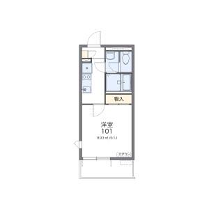 1K Mansion in Shimizu - Nagoya-shi Kita-ku Floorplan