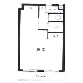 1R Mansion in Kamisoshigaya - Setagaya-ku Floorplan