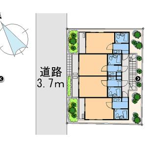 1K Mansion in Izumicho - Tachikawa-shi Floorplan