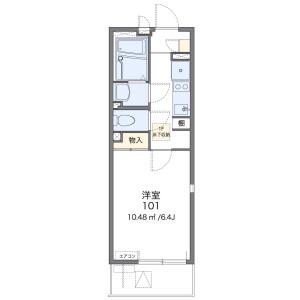 1K Apartment in Hongo - Bunkyo-ku Floorplan