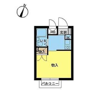 1R Mansion in Wakamiya - Nakano-ku Floorplan