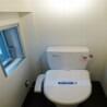 1LDK Apartment to Rent in Meguro-ku Toilet