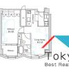 在新宿區內租賃1LDK 公寓大廈 的房產 房間格局