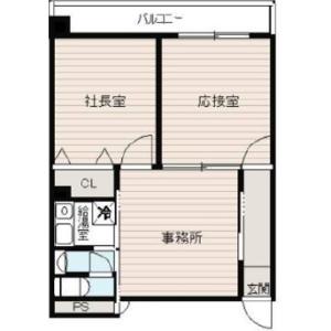 Office {building type} in Nishitemma - Osaka-shi Kita-ku Floorplan