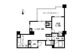 1LDK Mansion in Nakaochiai - Shinjuku-ku
