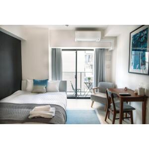 中央区 - 日本橋堀留町 简易式公寓 1K 楼层布局
