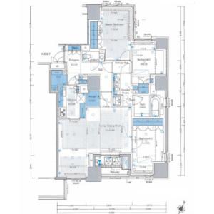 千代田区六番町-3LDK{building type} 楼层布局