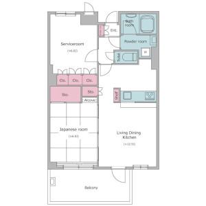 1SLDK Mansion in Otsuka - Bunkyo-ku Floorplan