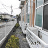 1K Apartment to Rent in Chofu-shi Balcony / Veranda