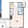 1R Apartment to Buy in Osaka-shi Chuo-ku Floorplan