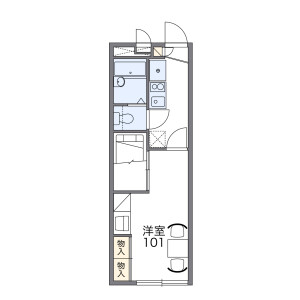 1K Mansion in Nukui - Nerima-ku Floorplan