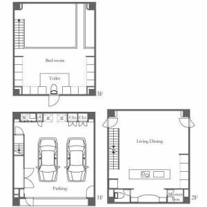 1SLDK House in Nishiazabu - Minato-ku Floorplan