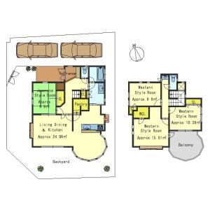 4LDK House in Mano - Otsu-shi Floorplan