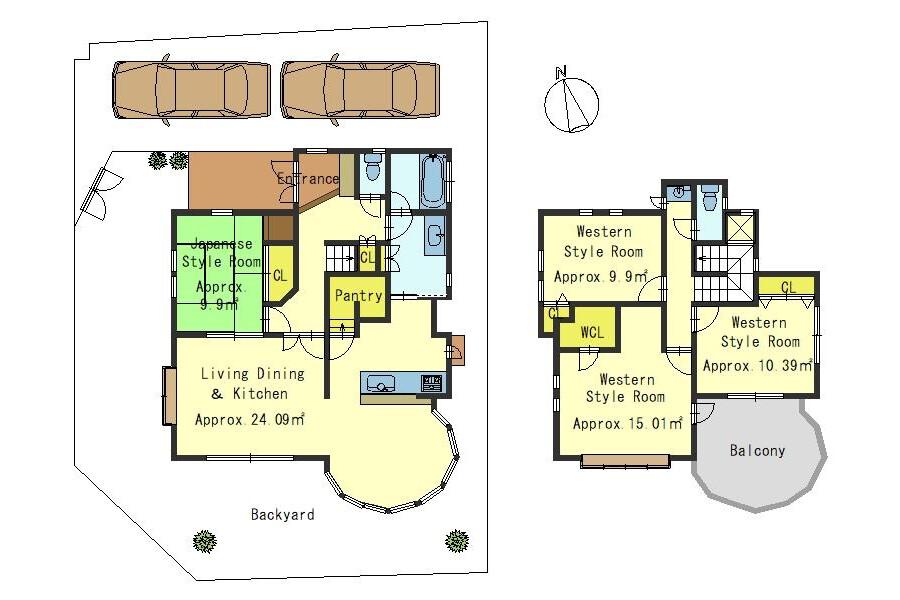 4LDK House to Buy in Otsu-shi Floorplan