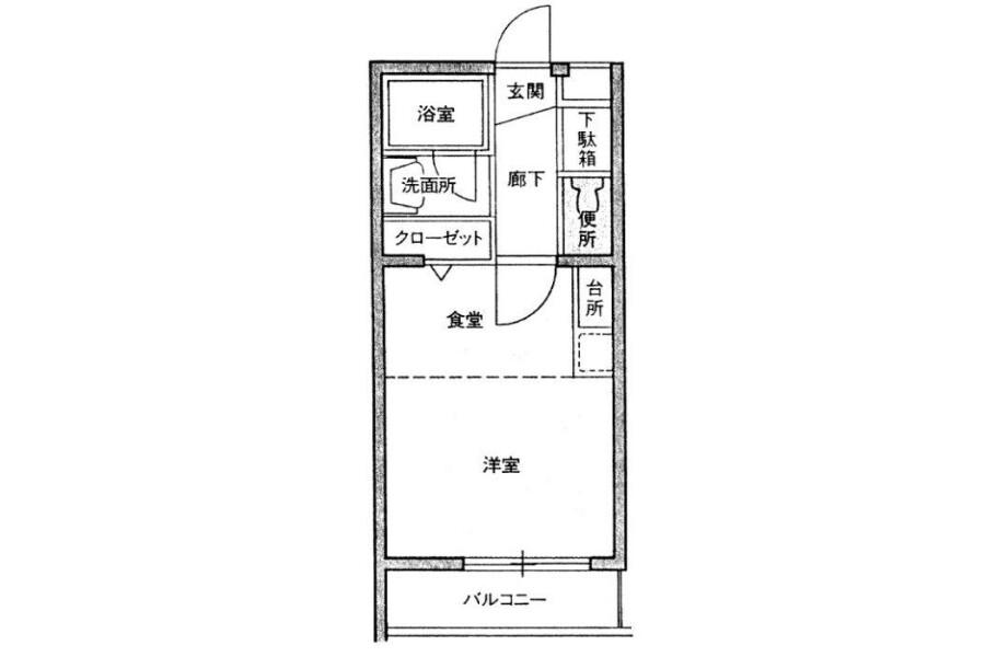 1DK Apartment to Buy in Fukuoka-shi Chuo-ku Interior