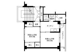 2K Apartment in Tsurumachi - Osaka-shi Taisho-ku