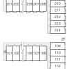 1K Apartment to Rent in Higashiomi-shi Layout Drawing