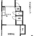 2DK Apartment