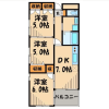 3LDK Apartment to Rent in Kita-ku Interior