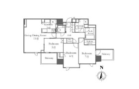 2SLDK Mansion in Ebisuminami - Shibuya-ku