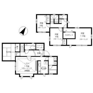 4LDK House in Minamiyukigaya - Ota-ku Floorplan
