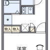 1K Apartment to Rent in Kawagoe-shi Floorplan