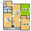 3LDK Apartment to Rent in Osaka-shi Ikuno-ku Floorplan