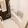 1R Serviced Apartment to Rent in Osaka-shi Kita-ku Bathroom