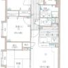 3LDK Apartment to Rent in Sayama-shi Floorplan