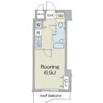 1K Apartment in Takaban - Meguro-ku Floorplan