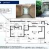 1LDK Apartment to Rent in Minato-ku Layout Drawing