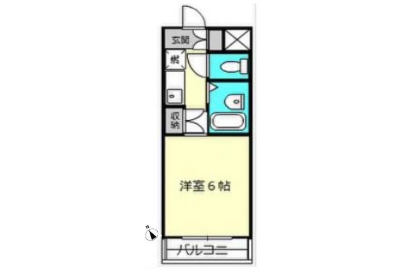 1K Apartment to Buy in Hachioji-shi Interior