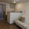 1K Apartment to Rent in Kagoshima-shi Living Room